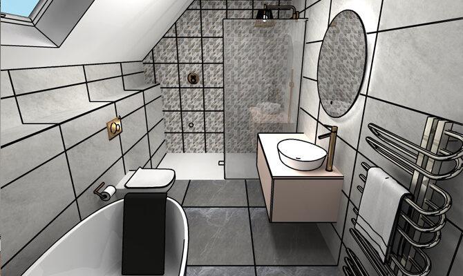 Design Process - Bathrooms